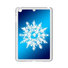 Background Christmas Star Ipad Mini 2 Enamel Coated Cases