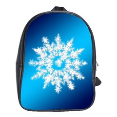 Background Christmas Star School Bag (xl)