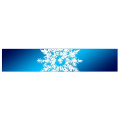 Background Christmas Star Flano Scarf (small)