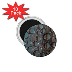 Drop Of Water Condensation Fractal 1 75  Magnets (10 Pack)