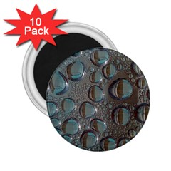 Drop Of Water Condensation Fractal 2 25  Magnets (10 Pack)