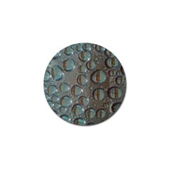 Drop Of Water Condensation Fractal Golf Ball Marker (4 Pack)