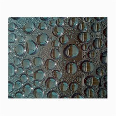 Drop Of Water Condensation Fractal Small Glasses Cloth