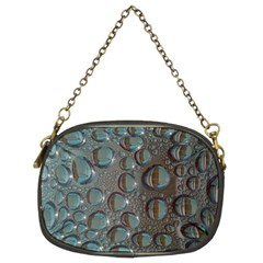 Drop Of Water Condensation Fractal Chain Purses (two Sides)