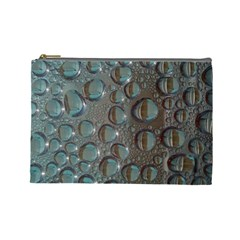 Drop Of Water Condensation Fractal Cosmetic Bag (large)