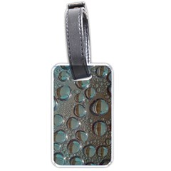 Drop Of Water Condensation Fractal Luggage Tags (one Side)