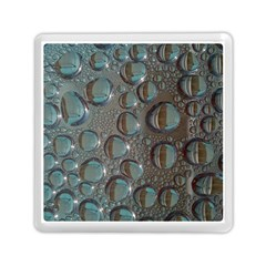 Drop Of Water Condensation Fractal Memory Card Reader (square)