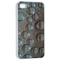 Drop Of Water Condensation Fractal Apple Iphone 4/4s Seamless Case (white)