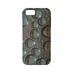 Drop Of Water Condensation Fractal Apple Iphone 5 Classic Hardshell Case (pc+silicone)
