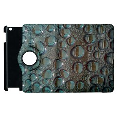 Drop Of Water Condensation Fractal Apple Ipad 2 Flip 360 Case