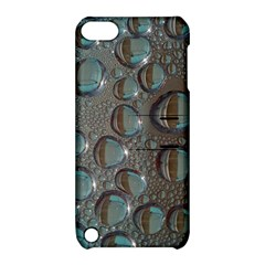 Drop Of Water Condensation Fractal Apple Ipod Touch 5 Hardshell Case With Stand