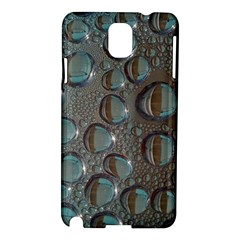 Drop Of Water Condensation Fractal Samsung Galaxy Note 3 N9005 Hardshell Case