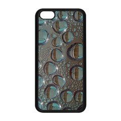 Drop Of Water Condensation Fractal Apple Iphone 5c Seamless Case (black)