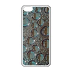 Drop Of Water Condensation Fractal Apple Iphone 5c Seamless Case (white)