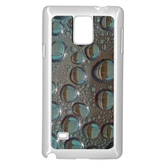 Drop Of Water Condensation Fractal Samsung Galaxy Note 4 Case (white)