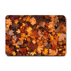 Fall Foliage Autumn Leaves October Small Doormat