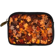 Fall Foliage Autumn Leaves October Digital Camera Cases