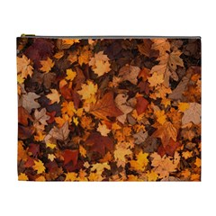 Fall Foliage Autumn Leaves October Cosmetic Bag (xl)