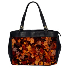 Fall Foliage Autumn Leaves October Office Handbags
