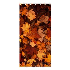 Fall Foliage Autumn Leaves October Shower Curtain 36  X 72  (stall)
