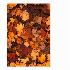 Fall Foliage Autumn Leaves October Small Garden Flag (two Sides)