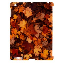 Fall Foliage Autumn Leaves October Apple Ipad 3/4 Hardshell Case (compatible With Smart Cover)