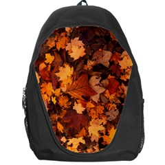 Fall Foliage Autumn Leaves October Backpack Bag