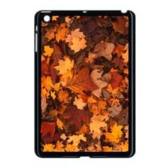 Fall Foliage Autumn Leaves October Apple Ipad Mini Case (black)