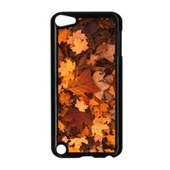 Fall Foliage Autumn Leaves October Apple Ipod Touch 5 Case (black)