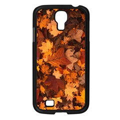 Fall Foliage Autumn Leaves October Samsung Galaxy S4 I9500/ I9505 Case (black)