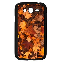 Fall Foliage Autumn Leaves October Samsung Galaxy Grand Duos I9082 Case (black)