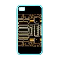 Board Digitization Circuits Apple Iphone 4 Case (color)