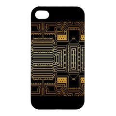 Board Digitization Circuits Apple Iphone 4/4s Premium Hardshell Case
