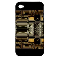 Board Digitization Circuits Apple Iphone 4/4s Hardshell Case (pc+silicone)