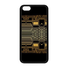 Board Digitization Circuits Apple Iphone 5c Seamless Case (black)