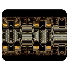 Board Digitization Circuits Double Sided Flano Blanket (medium)