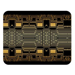 Board Digitization Circuits Double Sided Flano Blanket (large)