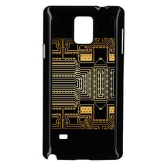 Board Digitization Circuits Samsung Galaxy Note 4 Case (black)