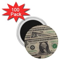 Dollar Currency Money Us Dollar 1 75  Magnets (100 Pack)