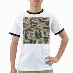 Dollar Currency Money Us Dollar Ringer T Shirts