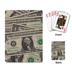 Dollar Currency Money Us Dollar Playing Card