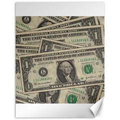 Dollar Currency Money Us Dollar Canvas 12  X 16