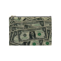 Dollar Currency Money Us Dollar Cosmetic Bag (medium)