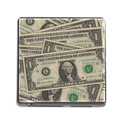 Dollar Currency Money Us Dollar Memory Card Reader (square)