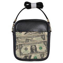 Dollar Currency Money Us Dollar Girls Sling Bags