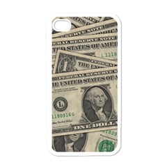Dollar Currency Money Us Dollar Apple Iphone 4 Case (white)