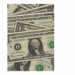 Dollar Currency Money Us Dollar Small Garden Flag (two Sides)