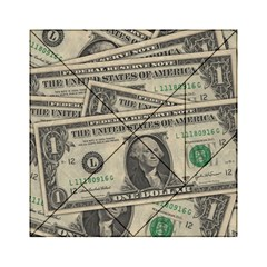 Dollar Currency Money Us Dollar Acrylic Tangram Puzzle (6  X 6 )