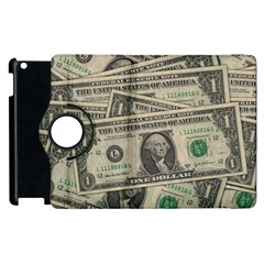 Dollar Currency Money Us Dollar Apple Ipad 2 Flip 360 Case