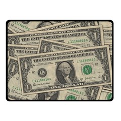 Dollar Currency Money Us Dollar Double Sided Fleece Blanket (small)